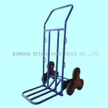 carretilla de mano sube la escalera, 75kgs capacidad, ancho de la placa del dedo del pie 3