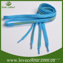 Custom Impreso Poliester Tubular Shoelace Venta al por mayor