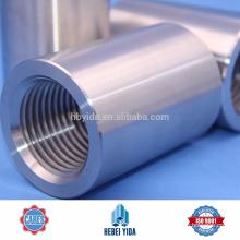 Aço da barra do acoplamento do projeto de construção / barra rosqueados / luva do Rebar dos conectores da barra