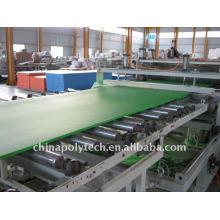 Kunststoff-Konstruktion Schalung Extrusion Maschine
