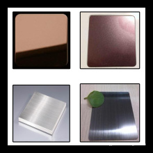 Mirror Color Stainless Steel Sheet for Interior Wall Decorative Panel
