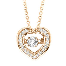 Collar de plata del diamante del baile de la placa 925