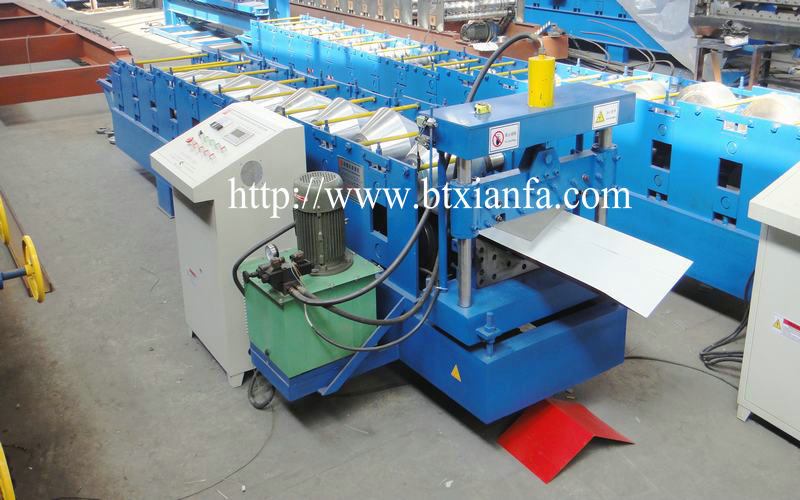 Roof Cap Form Machine