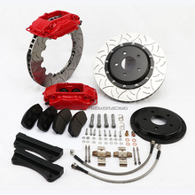 Sistema de freio do carro modificado para Honda civic WT-F40 4 kit de freio dianteiro do pistão de corrida