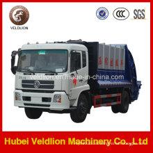 4X2 LHD Drive 12m3 Comprimir camión de basura