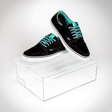 Transparent Acrylic Sneaker Box Suppliers and Manufacturers