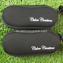 Venta al por mayor Soft Neoprene Sunglasses Cases