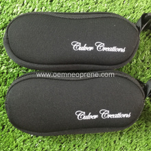 OEM for Black Handmade Glasses Case Good Quality Waterproof Black Neoprene Glasses Case export to Portugal Manufacturers