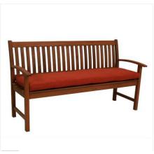Colorido, ao ar livre, three-seater, banco, almofada
