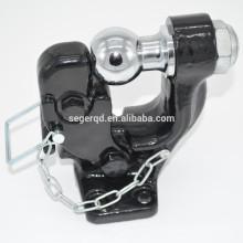 Empfänger Halterungen Pintle Hook mit 2-Zoll-Hitch Ball