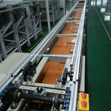 Sistemas personalizados de cintas transportadoras de cadena de velocidad