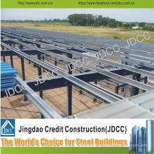 Atelier professionnel et de haute qualité de structure métallique, entrepôt, structure en acier de hangar