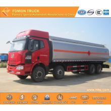 FAW 8x4 Gasoline Fuel Tanker Truck Capacity 30000L