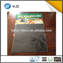 Free Sample china supplier fire retardant bbq grill mat whosale Non stick fiberglass BBQ grill mat on Amazon