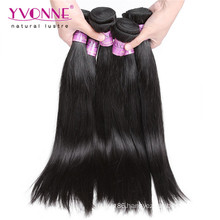 Natural Straight Peruvian Virgin Human Hair Weave