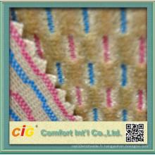 Tissu teint en fil et tricot Technics Tissu de siège auto auto