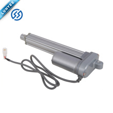 Portão de balanço automático empurrando e puxando o atuador linear elétrico de 12v