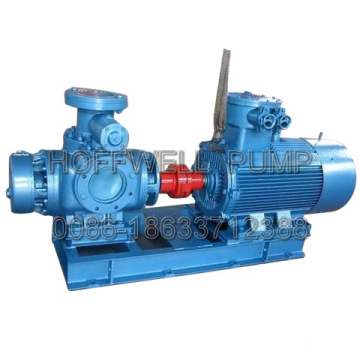 Horizontal Engine Oil Twin Screw Pump