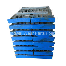 Professional OEM Crusher Parts Jaw Plate for Extec Crusher