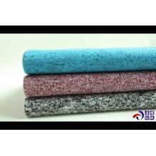 Cepillo trasero de poliéster 100 Tejido Hacci para suéter