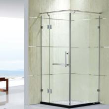 Populaire italien modèle douche écrans de douche pliant