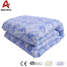 Stock material cheap micrfiber comforter and wholesale 1pc stock comforters