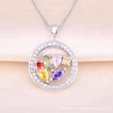 Circle Fashion Pendant Necklace