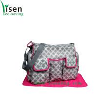 Travel Bag impermeável das fraldas para bebé com alça de ombro (YSDB00-053)