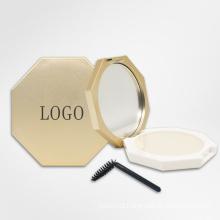 OEM New Octagon Makeup Eyebrow Brow Styling Soap Private Label Vegan Waterproof Brow Soap Kit