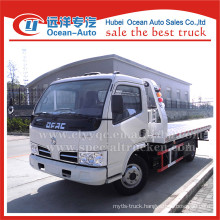 2015 Hot Dongfeng dlk 4TON flatbed tow truck