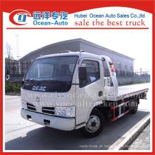2015 Hot Dongfeng dlk 4TON camião reboque de plataforma