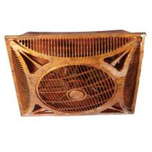 14 pulgadas de madera de color de plástico caja de ventilador de techo (USCF-162B)