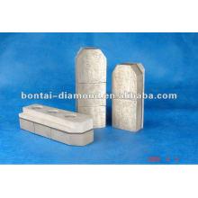 Resina de diamante Fickert para hormigón, piedras, mampostería