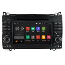 Android 5.1 / 1.6 GHz reproductor de DVD portátil de coches DVD GPS para Mercedes Benz a / B 2012 antes con conexión WiFi Hualingan