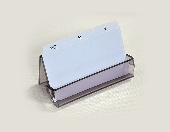 Office Acrylic Business Card Sign Holder Display