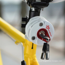 Bike Anti Theft Mini Foldable Chain Password Lock Folding-Locks Hamburg-Lock Bicycle Cycling Locks 4 Colors