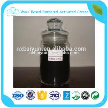 Carbone activé de charbon actif à base de bois de 240 mesh