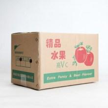 boîtes de carton de fruits imprimés