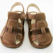 Brown Children Boy Sandals