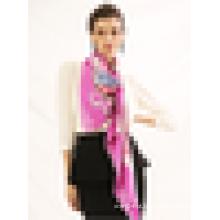 Outono mulheres cachecol novo design 2015 moda lenço de sarja de seda