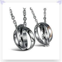 Hängende Art- und WeiseEdelstahl-Schmucksache-Halskette (NK130)