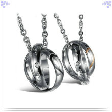 Pingente de moda colar de jóias de aço inoxidável (nk130)