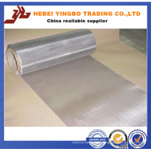 Silver Bright 5 Micron Stainless Steel Wire Mesh