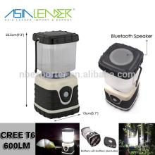 Mit Bluetooth Lautsprecher, gute Camping Laterne Batterie Stromversorgung, LED Camping Laterne Lieferanten, beste Camping Laterne Led