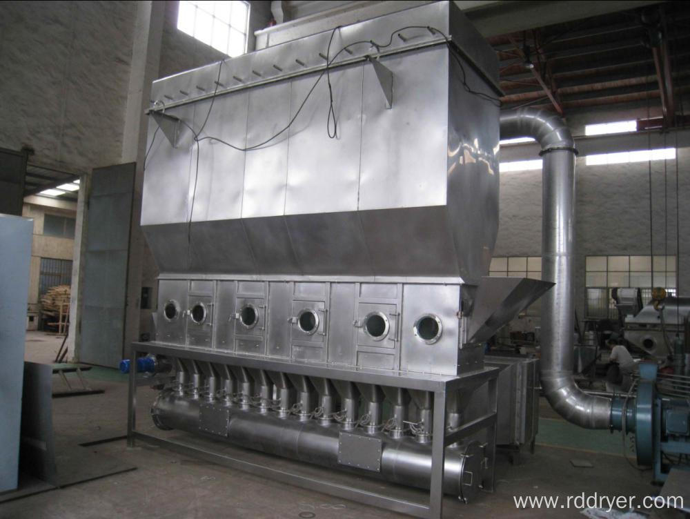 XF Series Horizontal Boiling Fluid Bed Dryer