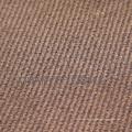 Polyester Twill Wildleder Stoff für die Dekoration