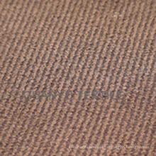 Tecido de sarja de camurça de poliéster para decoração