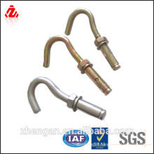 roofing hook bolt with nut