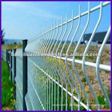 Die PVC-beschichtete Schweiß-Dreieck-Biege-Leitplanke