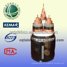 El cable caliente 10kV XLPE de la energía de la venta MV aisló el STA 3 * 300mm2 acorazado